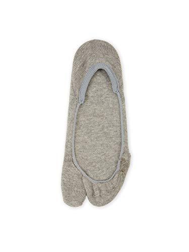 靴下屋 無地足袋極浅履きカバーソックス 22.0~24.0cm 日本製 足袋ソックス