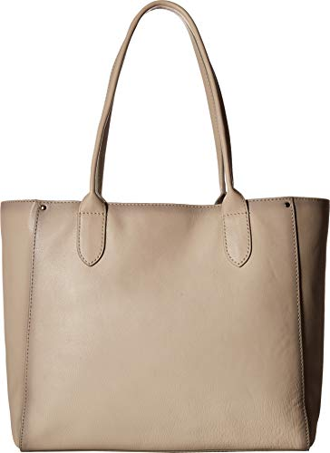 Frye Olivia East/West Tote Off-White Soft Tumbled Full Grain One Size
