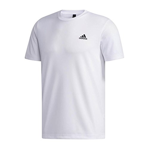 [アディダス] トレーニングウェア エッセンシャルズ CLIMALITE パックTシャツ ETZ84 [メンズ] ホワイト/ブ...