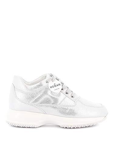 Hogan Sneakers Interactive HXW00N00E10MVPB200 Argento Donna 36