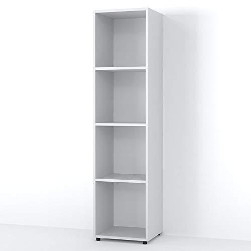 Vicco Raumteiler LUDUS 4 Fächer 142 x 36 cm - Standregal Hängeregal Regal TV Lowboard Sideboard...