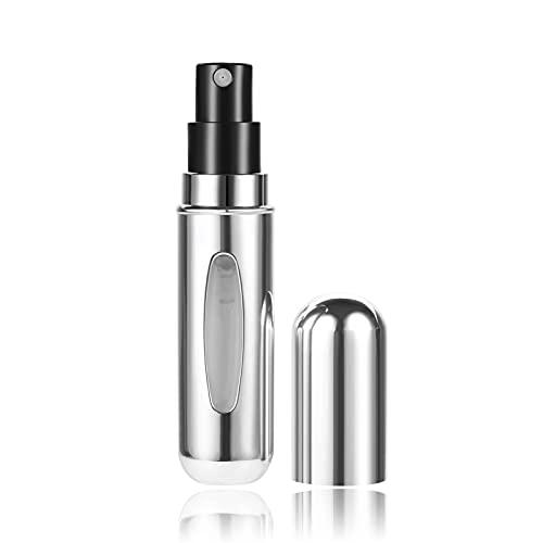 Botella de spray 5ml mini mini recargable conveniente atomizador vacío bomba de perfume bomba de aluminio botella de rociado cosmético contenedor de viaje regalo de perfume Dispensador de perfume