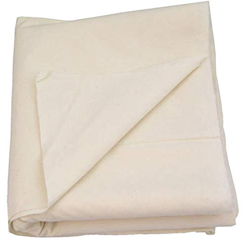 AK TRADING CO. Muslin Fabric/Textile Unbleached - Draping Fabric - Natural 10 Yards Medium Weight - 100% Cotton (63in. Wide)