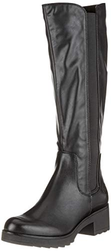 MARCO TOZZI Damen 25606-21 Hohe Stiefel, Schwarz (Black Antic 002), 40 EU