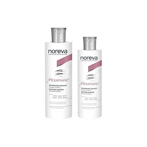 Noreva Pack Hexaphane Fortifying Shampoo 400 Ml + Fortifying Shampoo 250 Ml
