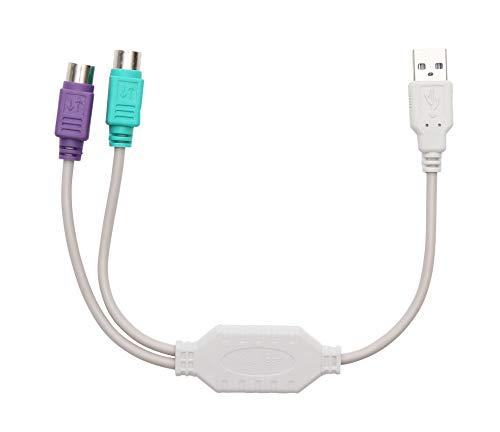 フルスイング USB-PS/2 変換ケーブル FS-064 PS2 キーボード・マウスをUSB接続で使える!