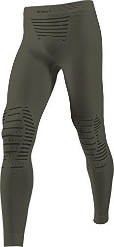 X-Bionic Herren Unterwäsche INVENT UW PANTS LONG, Sage Green/Anthracite, XXL, I020271