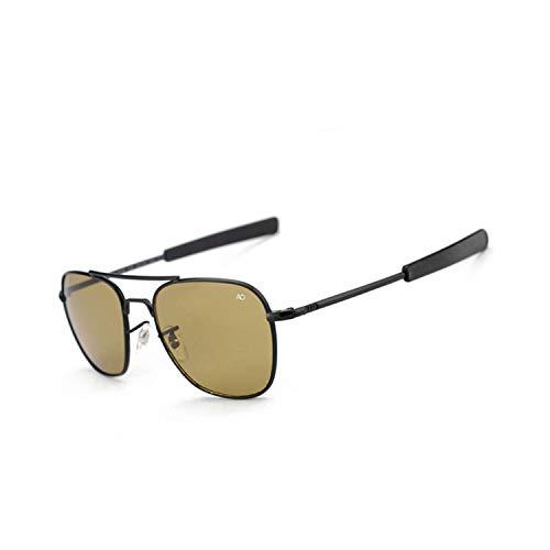 Preisvergleich Produktbild Sport-Sonnenbrillen,  Vintage Sonnenbrillen,  Pilot Sun Glasses For Men AO Sunglasses Aviation Zonnebril Mannen Douglas Macarthur Glasses Oculos Lunette De Soleil Homme Sol Black-Maroon