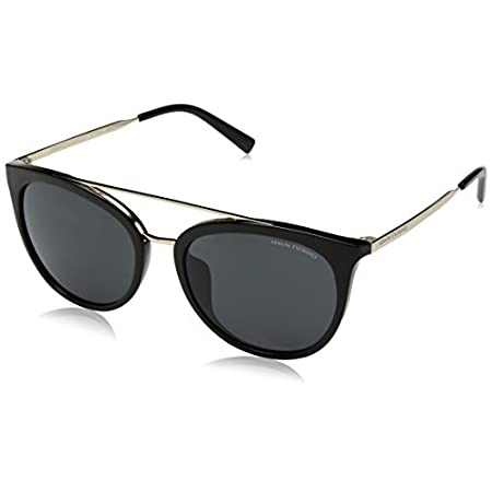 Armani sunglasses for men and women AX Armani Exchange Women's Ax4068sf Asian Fit Round Sunglasses