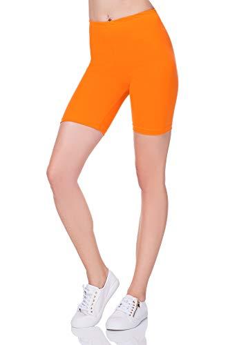 Softsail - Mallas para mujer (1/2 algodón, lisas, deportivas, informales, para ciclismo...