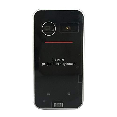 Uniqueheart Teclado Bluetooth inalámbrico portátil Virtual Teclado de proyección Bluetooth Mini para Windows para teléfonos móviles