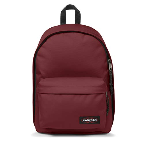 Eastpak Out Of Office Zaino, 44 Cm, 27 L, Rosso (Brisk Burgundy)
