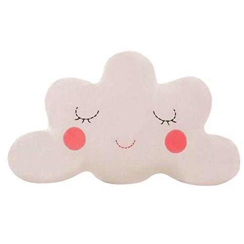 Pu Ran, cuscino a forma di graziosa nuvola, biancheria da letto, decorazione domestica, peluche imbottito, 3#, taglia unica