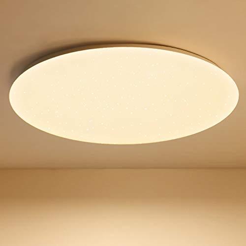 LED Deckenleuchte, BIGHOUSE 18W 1600lm Deckenlampe, Ersatz für 100W Halogenlampen,IP44 Wasserfest Badlampe, 3000K Warmweiß für Badezimmer, Wohnzimmer, Balkon, Flur Küche, Ø30cm (Warmweiß)