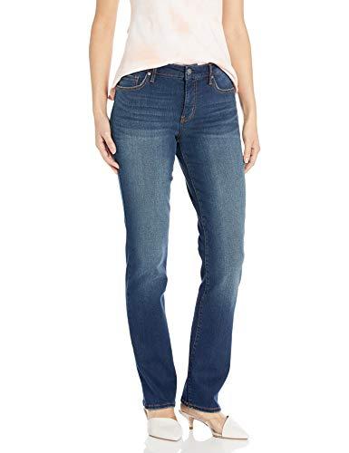 Vintage America Blues Damen Classic Straight Leg Eco-Friendly Fabric Jeans, Bordüre – recycelte Fasern, 22W