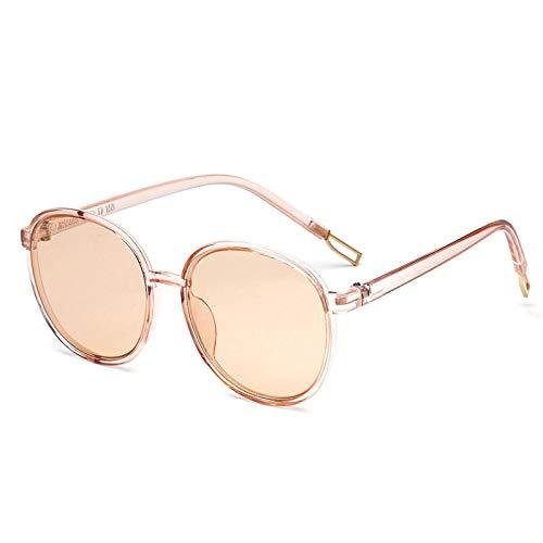 Gafas De Sol Anteojos para Hombre, Gafas De Sol con Montura Redonda Grande, para Mujer, para Hombre, Diseñador De Lujo, Gafas Transparentes Vintage, Gafas 5