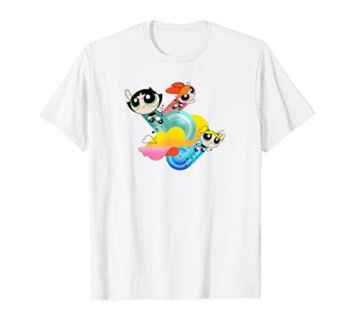The Powerpuff Girls Spiral Streaks T-Shirt