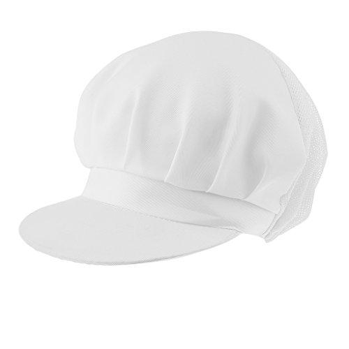 MagiDeal Cappello Da Cucina Cappellini Regolabile Per Chef