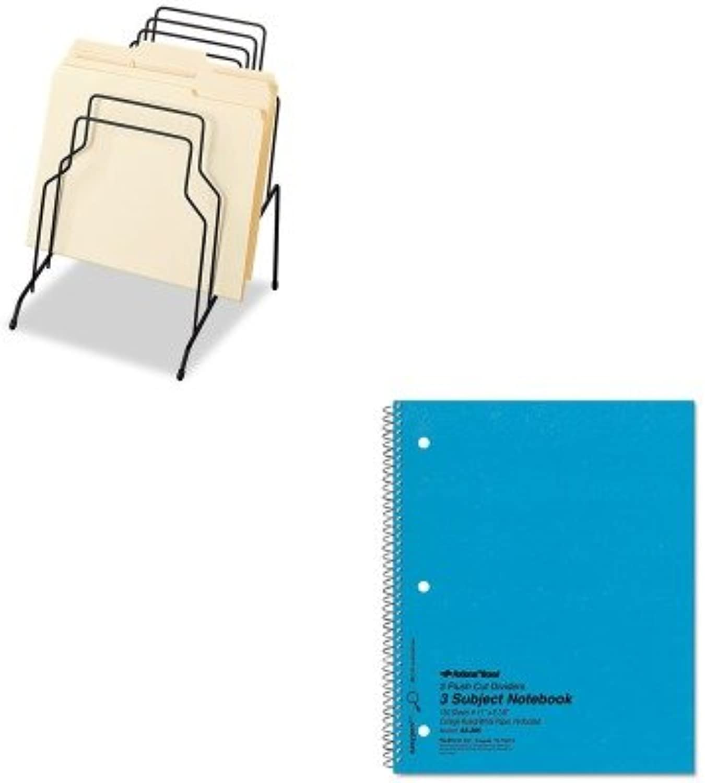 KITFEL72614rot33386 - Value Kit Kit Kit - National 3-Subject Wirebound Notebook (rot33386) und Fellowes Step File (FEL72614) B00MOP9PIW | Haltbarkeit  ee6599