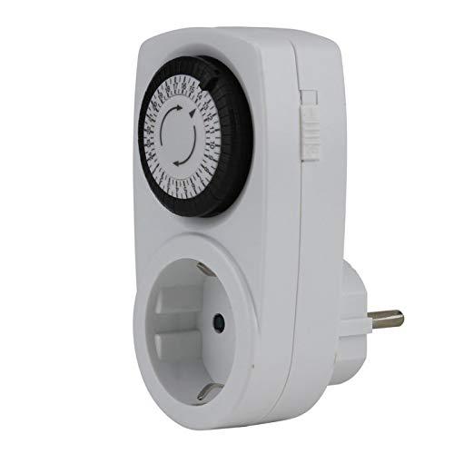 UNITEC 46431 Tageszeitschaltuhr mini, analog, für Innenbereich