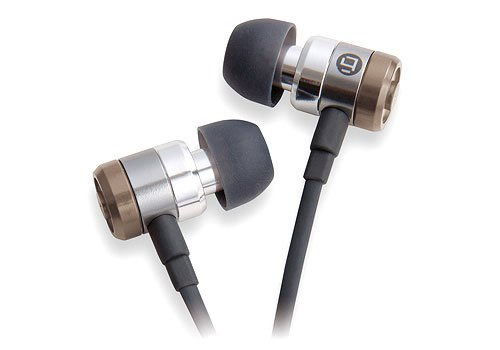 TDK T62003 Live - Auriculares in-ear, color bronce y blanco