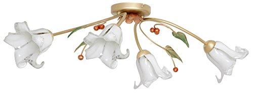 Deckenleuchte E27, CHIARA, Florentiner-Stil, leuchtenladen, Deckenlampe