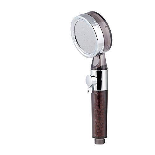 AQVALESS Hochdruck-Duschkopf, montiert und Qualitätskontrolle in Italien, universell und kompatibel mit Duschsäule, Wassersparen [Energieeffizienzklasse A +]