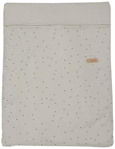 Tutti Bambini Travel Cots, Duvet Cover, Pillowcase, Grey Spot
