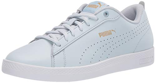 Puma Smash V2 - Zapatillas para mujer, Plein Air-puma Team Gold-puma White, 10