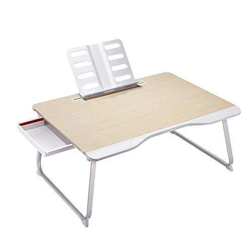 RUIMA Folding Table, Laptop Stand Bed Desk Folding Desk Bedroom Bay Window Lazy Table Suitable For Learning Reading Work