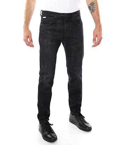 PEOPLE (+) Jeans Dali 5 Tasche Nero da Uomo Casual