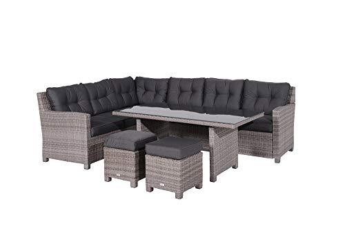 GMD Living - Conjunto de muebles de jardín (alta calidad), diseño de pájaro azul