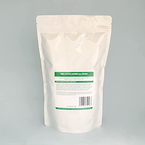 Quelato de Hierro 6% Fe-EDDHA orto orto 4,8 %. Nutriente para Plantas. Hierro Quelatado. Evitar clórosis (1Kg)