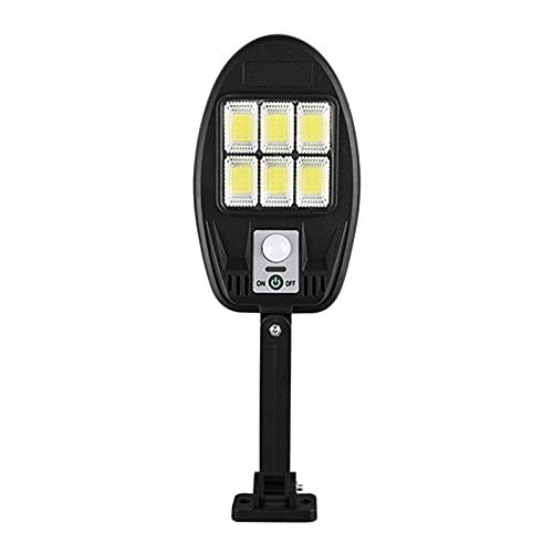 Fenteer Focos solares LED al Aire Libre Paisaje Separado IP65 Impermeable iluminación de la lámpara de Seguridad Auto-inducción para Patio jardín Entrada - 181-6 Seis Rejillas