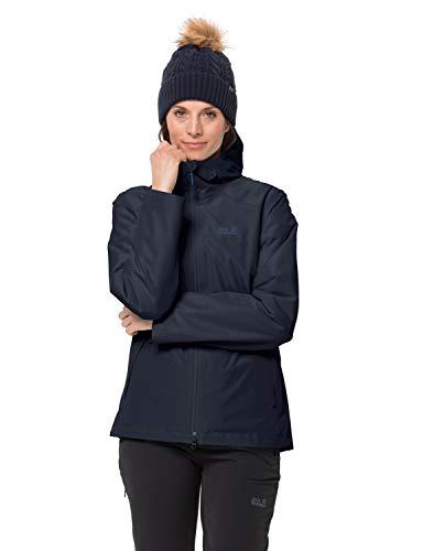 Jack Wolfskin Damen Chilly Morning JKT W Wetterschutzjacke, Midnight Blue, S