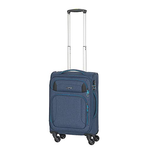Hardware Airstream 4-Rollen-Bordtrolley 55 cm Blue-lightblue
