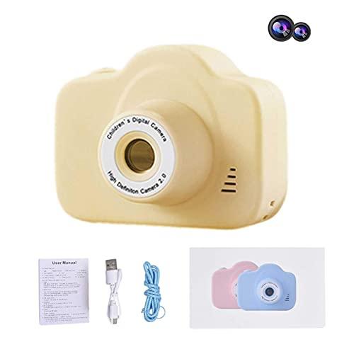 BeAteam - Cámara de fotos infantil 1080P HD con pantalla de cristal líquido de 2,4 pulgadas recargable mini cámara digital regalo para niños de 3 a 12 años
