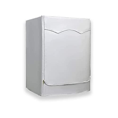 Ducomi Funda para Lavadora y Secadora Impermeable, Funda para Lavadora de Exterior para Lavadoras y Secadoras de Carga Frontal – Cubiertas Antipolvo, Protección Arañazos con Cremallera (60x60x85 cm)