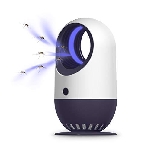 NEWMAN771Her - Lámpara LED para matar mosquitos y mosquitos con USB