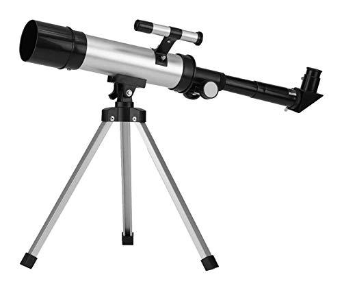DZHTSWD Brechung des Teleskops 360x50mm astronomischer Teleskop-Röhre Refraktor Monokularer Fleckenbereich mit stativ Astronomisches Teleskop