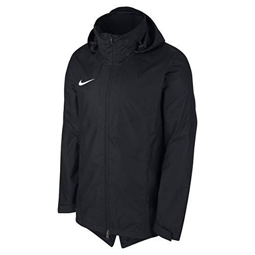 NIKE Y NK Rpl Acdmy 18 Rn Jkt Sport jacket, Niños, Black/ Black/ White, L