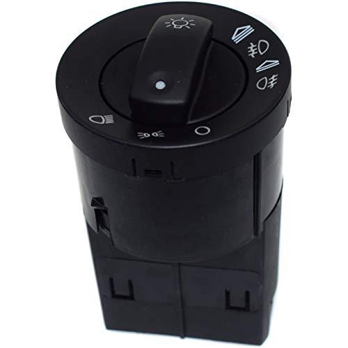 Haude Interruptor de Faros de Coche Interruptor de CombinacióN de Faros Antiniebla para A4 B6 B7 8E0941531A