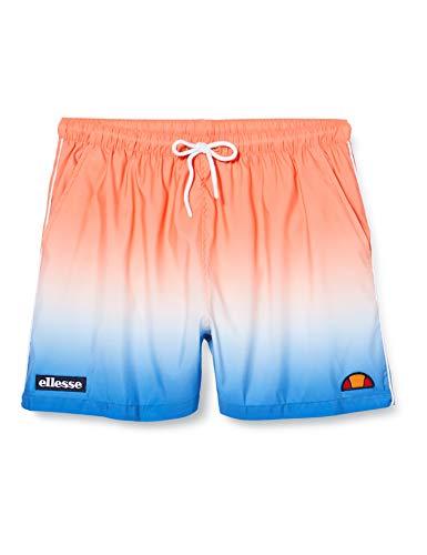 Ellesse Dem Slackers Fade Swim Short para Hombre, Hombre, Bañador Corto, SHF09309, Naranja, XL