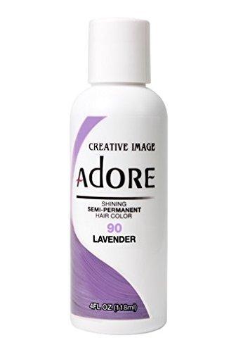Adore Creative Image Semi-permanent Hair Color #90 Lavender by Adore