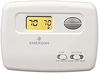 Non-Programmable White Rodgers 1F86ST-0471 Blue Selecto Spanish Thermostat
