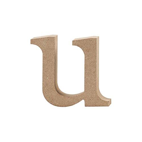 Lettre, h: 8,5 cm, MDF, u, 1 pièce