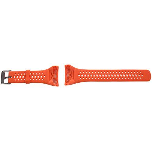 Pulsera de silicona con correa para la muñeca para Polar M400 M430 GPS Sports Smartwatch Pulsera de repuesto Correas de reloj con herramienta Naranja