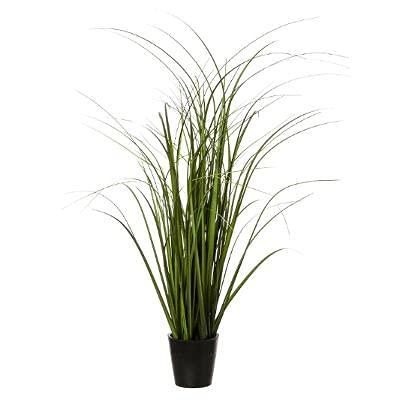 Grasbusch im Topf, Höhe: 68 cm, Kunstgras Gras Gräser Dekogras hoch Blumentopf Kunstpflanze künstliche Pflanze Büro Deko Plastikpflanzen Kunstblumen