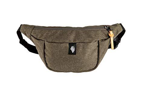Nitro Snowboards Bag stijlvolle heuptas buiktas met 2 vakken Travel Hip Pack Heritage schoudertas