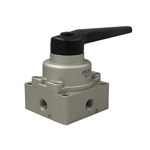 Piezas y accesorios de herramientas de aire Interruptor neumático, válvula manual, de tres posiciones de cuatro vías manual neumática de válvulas rotativas Para casa